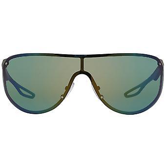 PRADA Grey Unisex Sunglasses