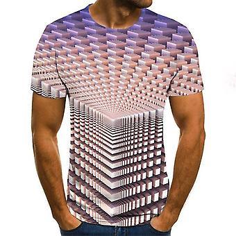 3d Zombie Print T-paita
