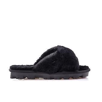 UGG W Fuzzette 1107955BLK universeel het hele jaar vrouwenschoenen
