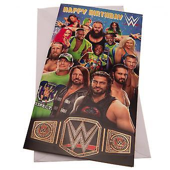 WWE Birthday Card (Pack of 2)