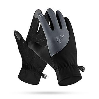 Winter Autumn Touch Screen Running Gloves Lightweight Non-slip Warm Villus