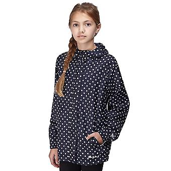 Nya Peter Storm Girl mönster packable jacka Navy