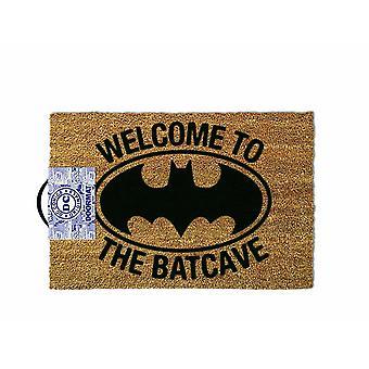 באטמן ברוכים הבאים מחצלת דלת העטלף