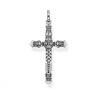 Thomas Sabo Sterling Sølv Sølv Cross Vedhæng PE912-637-21
