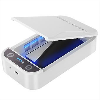 5v Prenosné Dual Uv Svetlo Sterilizátor Box, Šperky, Telefóny, Čistejšie puzdro s