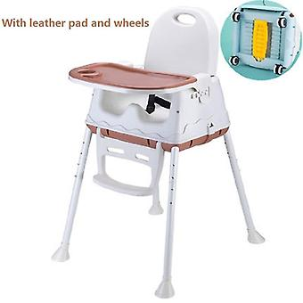 كرسي طعام الطفل، المحمولة، وتناول الطعام الآمن منزل عالية مناسبة لمقعد الطفل،