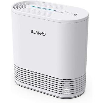 RENPHO Air Purifiers for Home with H13 True HEPA Filter, 3 Speeds, Night Light & Filter Change