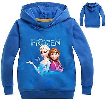 Enfants Bébés tout-petits congelés Elsa/anna Sweats à capuche d'impression