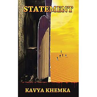 Statement by Kavya Khemka - 9781482884791 Book