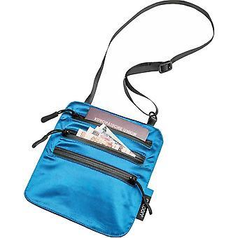Cocoon Secret Neck Wallet / Silk (Blue Lagoon)