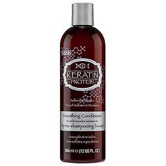 Hask Keratin Protein Smoothing Conditioner 355 ml