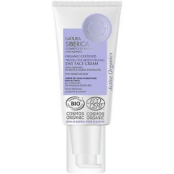 Natura Siberica Feuchtigkeitsspendende und schützende Gesichtstagescreme 50 ml