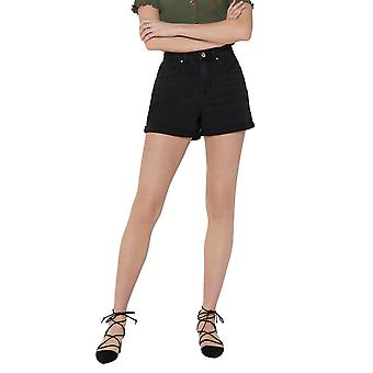 Only Women's Phine Regular Fitted Denim Shorts