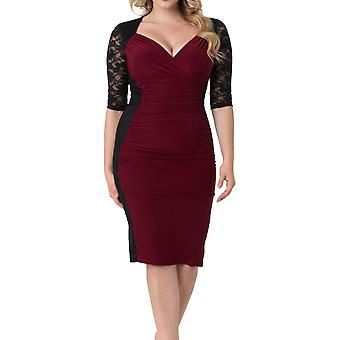 Kiyonna | Valentina Illusion Dress