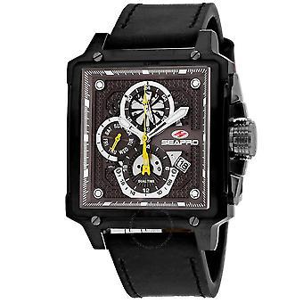 Seapro Dual Timer Quartz Brown Dial Men's Watch SP0114