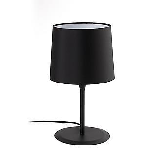 Faro CONGA - Tafellamp Rond Taps toelopend Zwart, E27