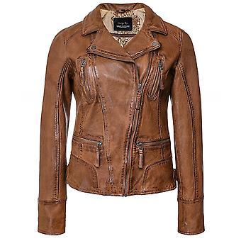 Oakwood Camera Leather Biker Jacket