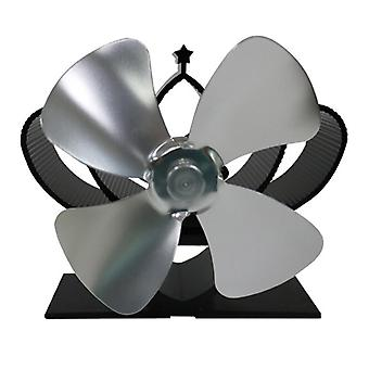 Fireplace thermodynamic blower five blade Electric Stove Fan