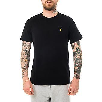T-shirt noir noir Lyle & Scott Plain Jet pour homme ts400vog.z865