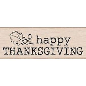 Hero Arts Large Happy Thanksgiving Rubber Stamp