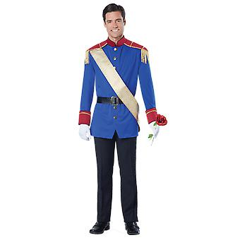 Mens Storybook Prince Charming Fairy Tale World Book Day Fancy Dress Costume