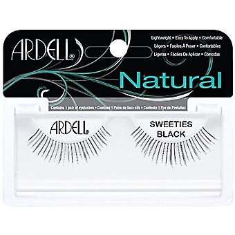 Ardell Natural Sweeties Black Easy To Apply Full False Eye Lashes