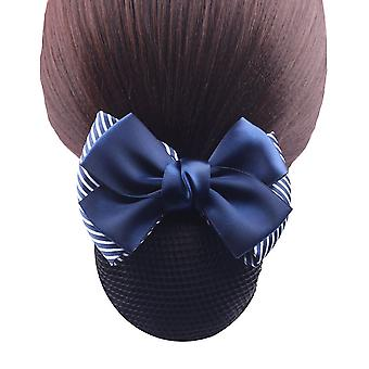 Ribbon Hair Pins Bow Barrette Mesh Hairpin