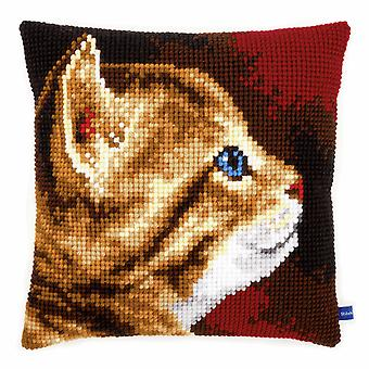 Vervaco Cross Stitch Kit: Coussin: Chaton