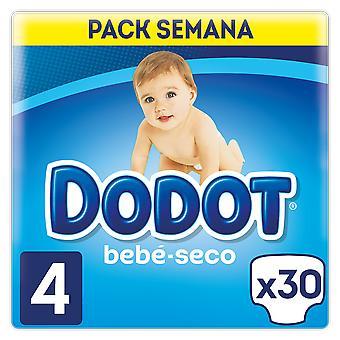 Dodot Bebé Seco Pañal Talla 4 30 Unidades