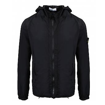 Stone Island | 43831 Skin Touch Nylon-tc Packable Lightweight Hood Jacket - Black