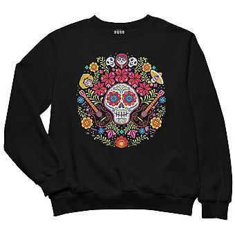 Coco Womens/Ladies Day Of The Dead Boyfriend Sweatshirt