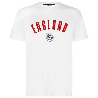 England Football Men's Wordmark T-Shirt   White