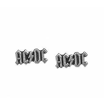 Alchemy - AC/DC Logo - Stud Earrings
