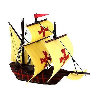 Dolls House Spanish Armada Sail Ship Galleon Miniature Boat Ornament Accessory