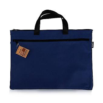 A4 Dokument Tasche Büro liefert Reißverschluss Tasche Canvas Handtasche Herren Aktentasche