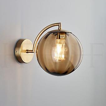 Living Room  Wall Lamp Creative Glass Ball Wall Lamp Bedroom Bedside Lamp(not Include Bulb)