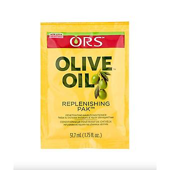 Ors Olive Oil Replenishing Pack 1.75 Ounce, 12 count