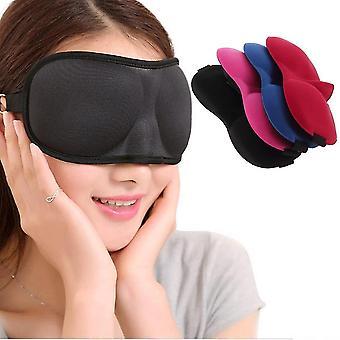 Outdoor Travel Sleep Aid Eye Mask Blindfold Cover Light Guide Sponge Blindfold