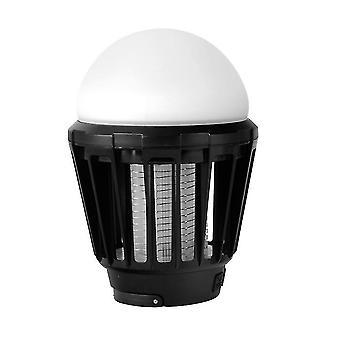 usb mosquito repellent light, household indoor plug-in mosquito killer(Black)