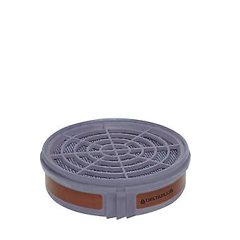 Delta Plus Half-gelaatsmasker filterpatroon A1 (2 stuk)