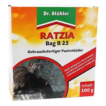 DR. STÄHLER Ratzia Bag B 25, 500 g
