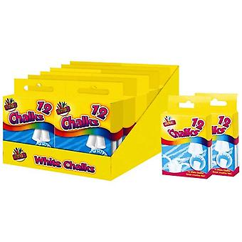 ArtBox 12 Chalks In Hanging Box (12 Pack)