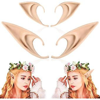 2 Pairs Elf Ears, Halloween Party Accessories