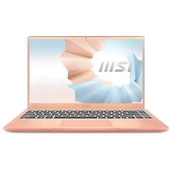 "Ultrabook MSI Moderne 14-008ES 14"" i7-1165G7 16 GB RAM 1 TB SSD Rose gull"
