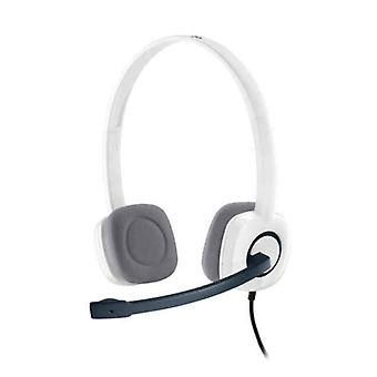 Headphones with Microphone Logitech H150 White