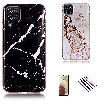 Samsung Galaxy A12 / A12 5g - Skal / Skydd / Marmor