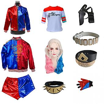 Harley Quinn Suicide Squad Cosplay Complete Set