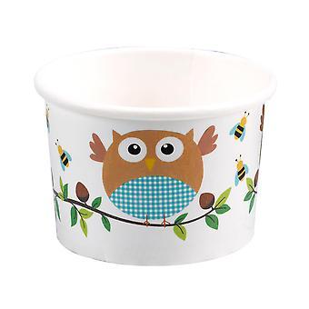 Little Owls - Treat Tubs - Blue