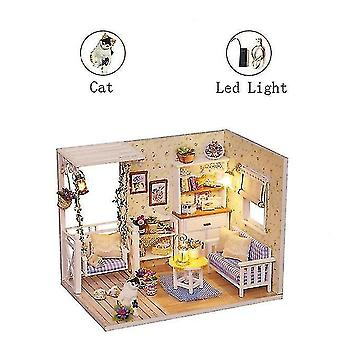 Dollhouse accessories year christmas gifts doll house diy miniature dollhouse toy furnitures casadolls houses toys for
