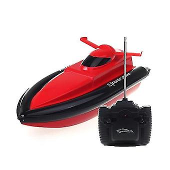 Remote control boats watercraft 0km / h rc boat 2.4Ghz high speed rc racing boats red